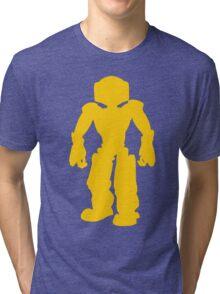 Yellow Robot Tri-blend T-Shirt