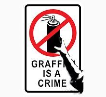 Banksy - Graffiti is not a Crime Unisex T-Shirt