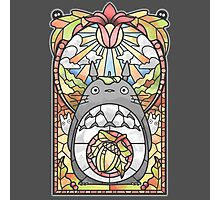 Stained Glass Forest Spirit Photographic Print