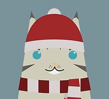 Christmas Tabby Tonk by psygon