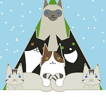 Have a purr-fect christmas by psygon