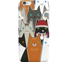 Christmas Cats iPhone Case/Skin