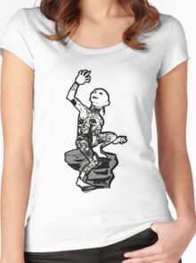 Precious ink Women's Fitted Scoop T-Shirt