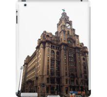 Liver Building, Liverpool iPad Case/Skin