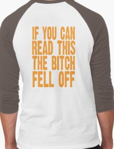 If you can read this Men's Baseball ¾ T-Shirt