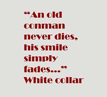White Collar Unisex T-Shirt