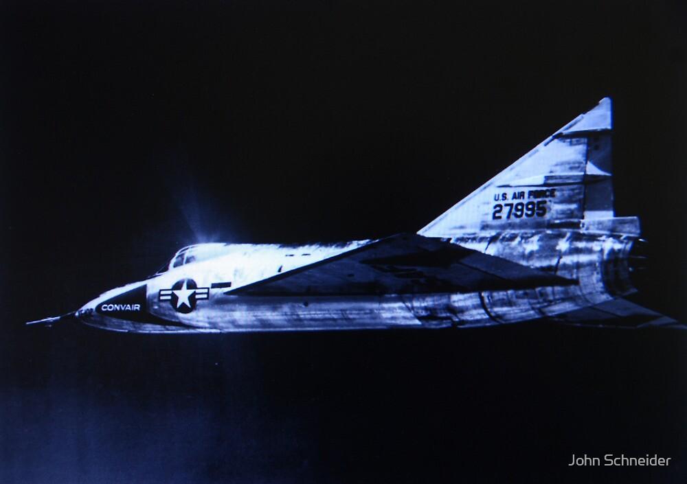 Convair YF-102 Delta Dagger by John Schneider
