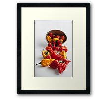 Spicy! Framed Print