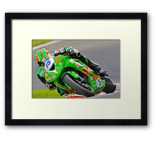 On the Charge Framed Print
