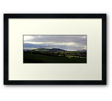 Scrabo Country View Framed Print