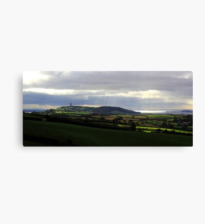 Scrabo Country View Canvas Print