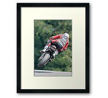 "Josh Brookes ""Lift Off"" Framed Print"