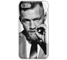 Conor McGregor b/w iPhone Case/Skin