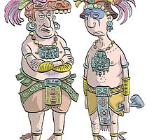 Mayans by MacKaycartoons