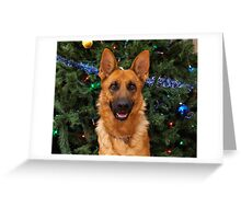 Isabelle at Christmas Greeting Card