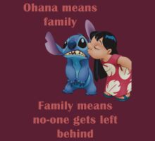 Ohana means family by forester98