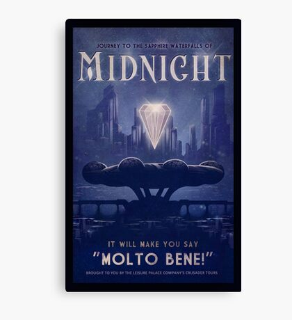 Midnight Canvas Print