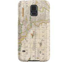 Antique Map of the Americas Circa 1652 Samsung Galaxy Case/Skin