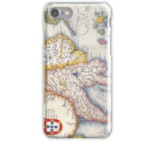 Antique Map of Southeast Asia Circa 1590 iPhone Case/Skin