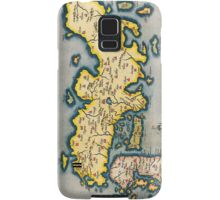 Antique Map of Japan Circa 1590 Samsung Galaxy Case/Skin