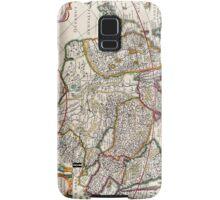 Antique Map of Asia Circa 1632 Samsung Galaxy Case/Skin