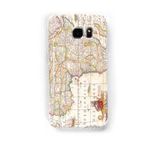 Antique Map of Africa Samsung Galaxy Case/Skin