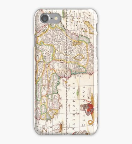 Antique Map of Africa iPhone Case/Skin