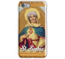 St. Sophia - Golden Girls iPhone Case/Skin