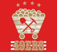 San Francisco 49ers Retro Shirt by fleshandbone