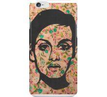 Twiggy Floral 60's Print Phone Case  iPhone Case/Skin