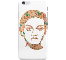 Twiggy Floral 60's Print White Phone Case  iPhone Case/Skin
