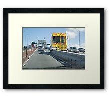"""""""Lane Directional Changer"""" Framed Print"""