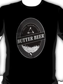 BUTTERBEER - Hogsmede Brew Black Label  T-Shirt
