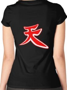Become: Akuma 3 Women's Fitted Scoop T-Shirt