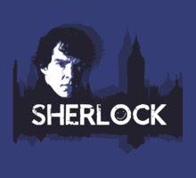 Sherlock over London by leea1968