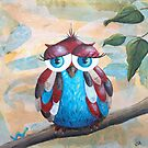 Owl by Kristy Spring-Brown