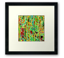 Water Reflections #4a Framed Print