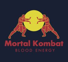 Mortal Kombat - Blood Energy by KillerBrick Tees
