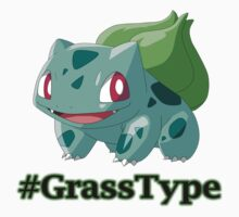 Bulbasaur Grass Type Pokemon by gbenaim