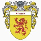 Medina Coat of Arms/Family Crest by William Martin