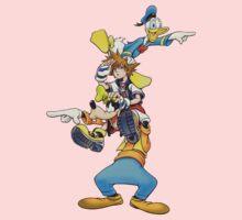 Kingdom Hearts: Where To Now? Kids Tee