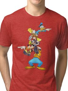 Kingdom Hearts: Where To Now? Tri-blend T-Shirt