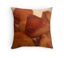 Roast potatoes Throw Pillow