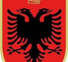 Albania State Emblem by abbeyz71