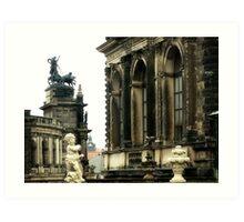 Cherub of Dresden  Art Print