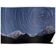 Star Trails from 3800m Poster