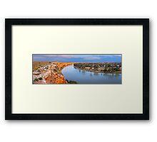 Murray River Big Bend, South Australia Framed Print