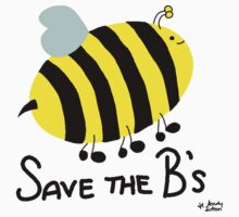 Save the B's One Piece - Short Sleeve