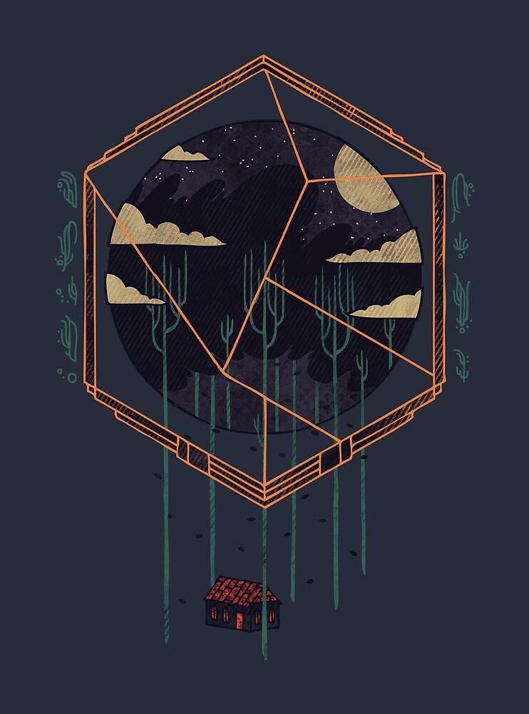 The Dark Woods by Hector Mansilla