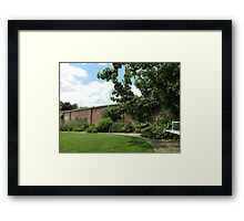 The Walled Garden - Lost Gardens of Heligan Framed Print